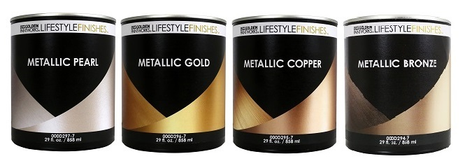 Lifestyle Finishes Metallic Colors