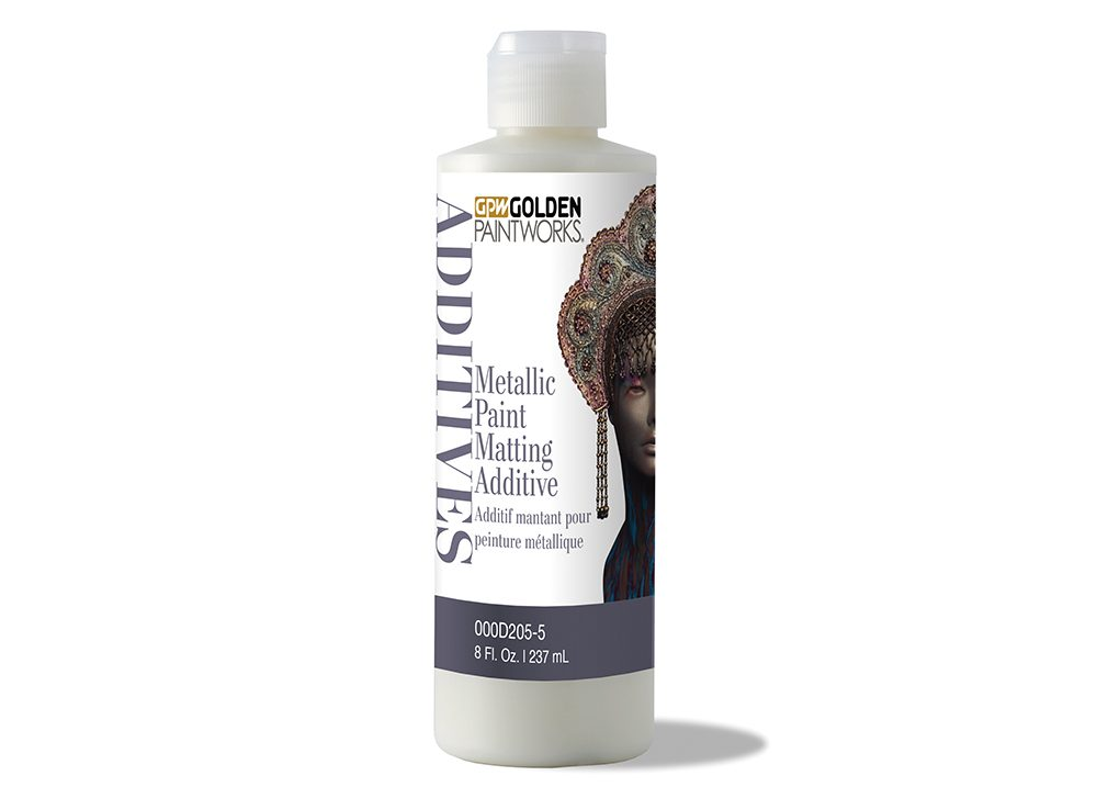 Metallic Paint Matting Additive