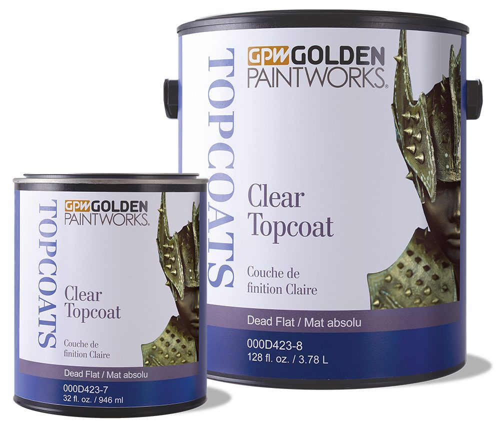 Picture of Clear Topcoat Dead Flat - quart