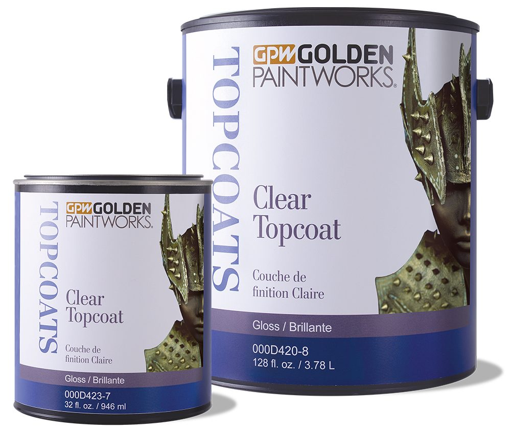Picture of Clear Topcoat Gloss - quart