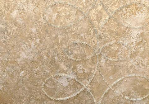 Beaded Brocade decorative finish