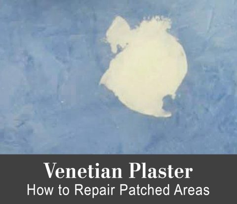 Venetian Plaster - How to Repair a Patched Area