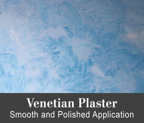 Venetian Plaster - Trowel Application Tutorial