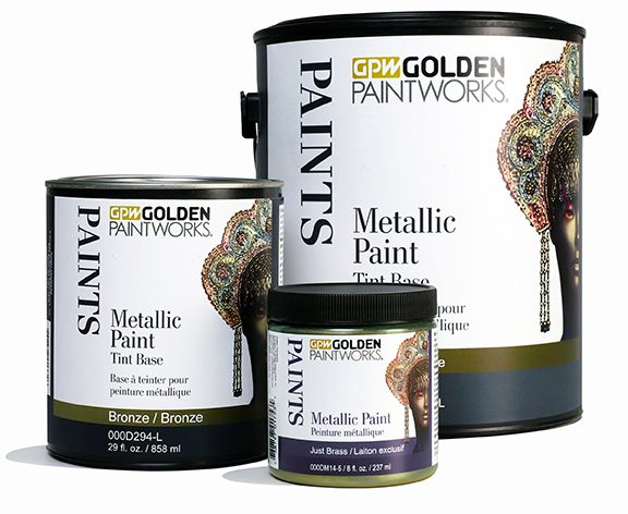 Metallic Paint Tint Base Bronze