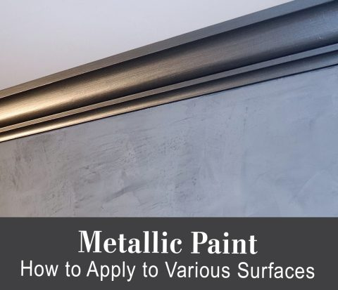 All About Metallic Paint Tutorial
