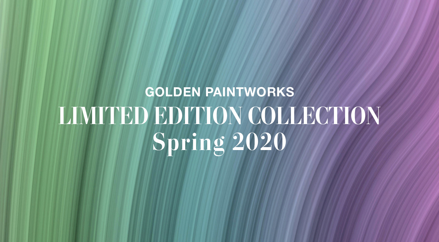 GPW Spring 2020 Limited Edition Collection