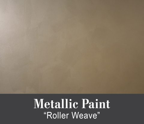 "Metallic Paint ""Roller Weave"" Tutorial"
