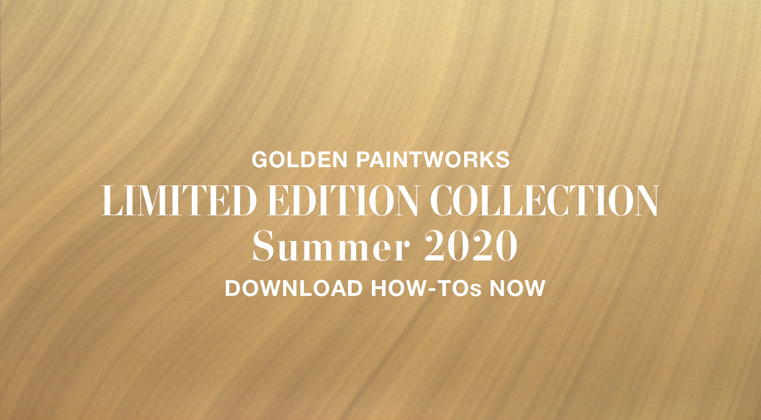 GPW Summer 2020 Limited Edition Collection
