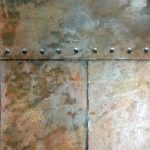 Rusted Steel With Rivets by Arteriors