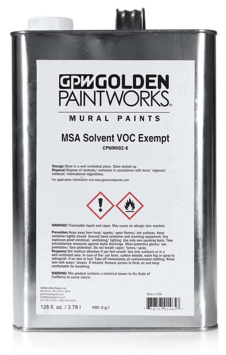 MSA Solvent CPWMV02-8