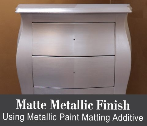 Matte Metallic Tutorial