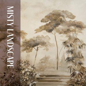 """""""Misty Landscape"""" by Cecelia Claire."""